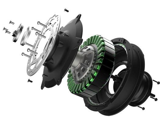 NIJ EV BLDC Scooter Hub motor - most efficient